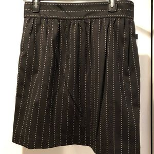 Alice + Olivia pinstriped skirt